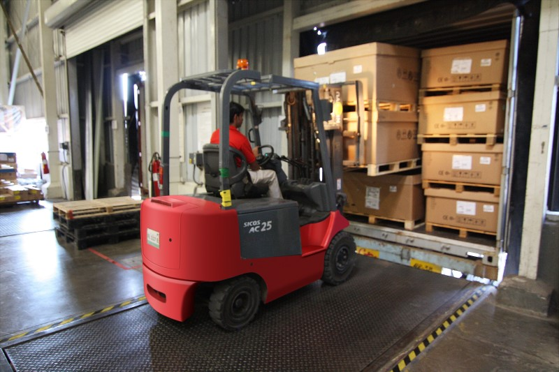 In Plant Logistics forklift truck – FIT 3PL