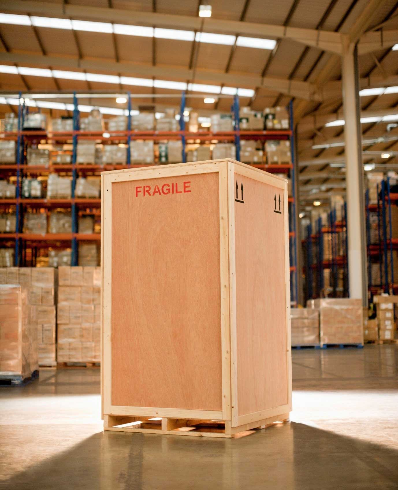 Packaging Services wooden crate box – FIT 3PL